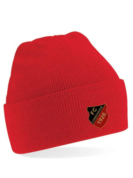 HSG Junior Cuffed Beanie rot