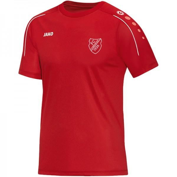 JAKO FCC Herren T-Shirt Classico rot