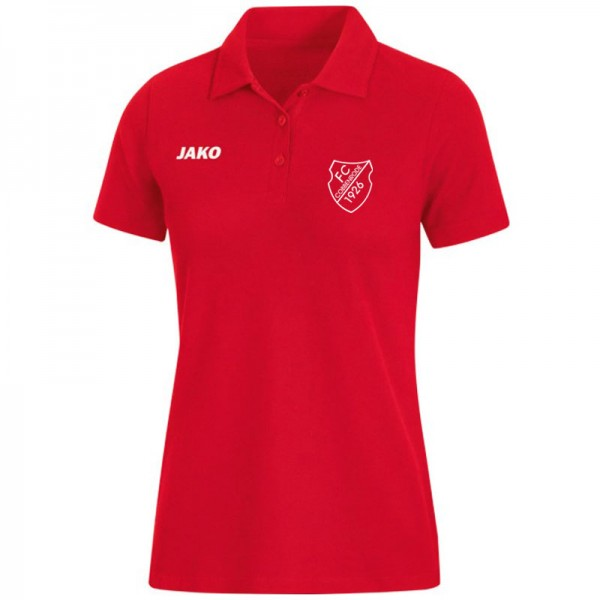JAKO FCC Damen Polo Base rot